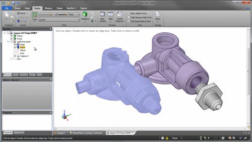 Geomagic® Design Direct正逆向混合设计软件